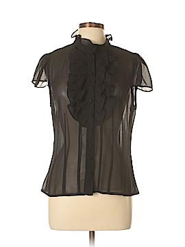 Pierre Cardin Short Sleeve Blouse Size L