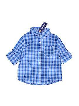 Cherokee Long Sleeve Button-Down Shirt Size 18 mo