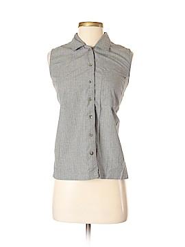 IZOD Sleeveless Button-Down Shirt Size S