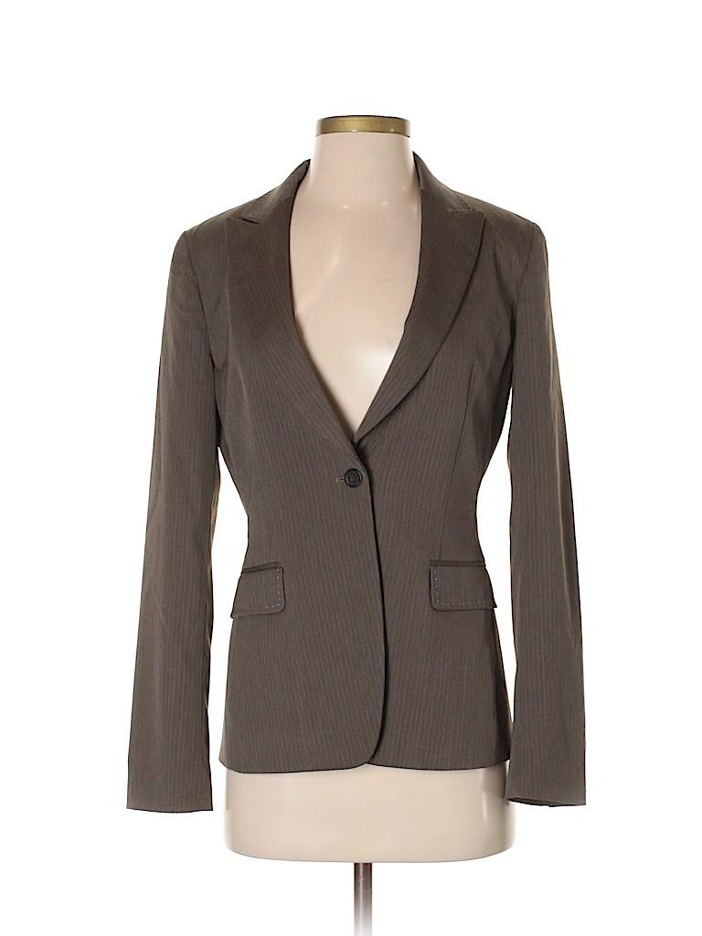 Elie Tahari Women Wool Blazer Size 4
