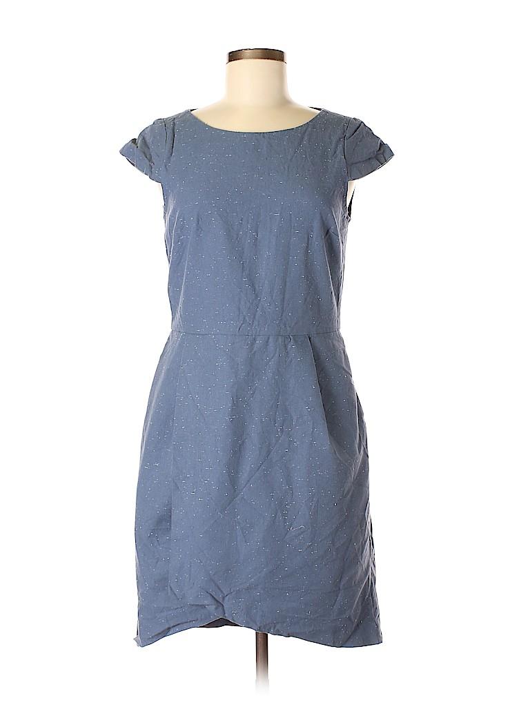 cedac85847 Kate Spade Saturday Solid Dark Blue Casual Dress Size 8 - 67% off ...