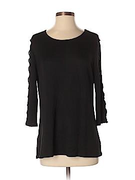Bobeau 3/4 Sleeve Top Size M