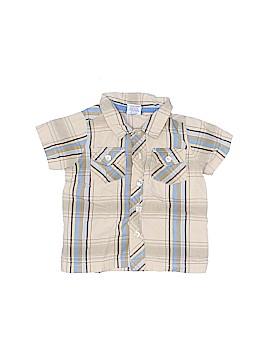 Sprockets Short Sleeve Button-Down Shirt Size 6-9 mo