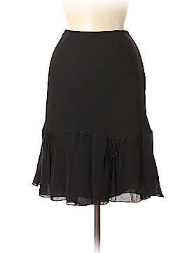 Studio M Silk Skirt Size M
