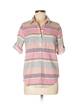 Hutch Short Sleeve Button-Down Shirt Size M