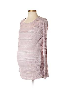 Jessica Simpson Long Sleeve Blouse Size L (Maternity)