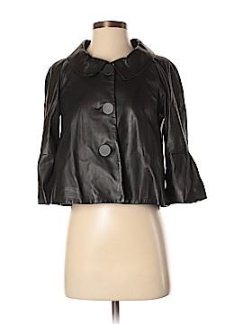 Theory Leather Jacket Size P