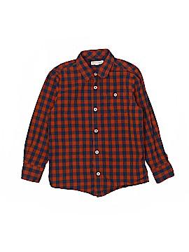 Tucker + Tate Long Sleeve Button-Down Shirt Size 7
