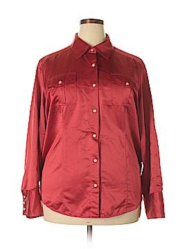 Tommy Hilfiger Long Sleeve Blouse Size 22 (Plus)