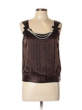 Tara Jarmon Sleeveless Silk Top Size 42 (EU)