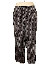 Sag Harbor Women Casual Pants Size 3X (Plus)