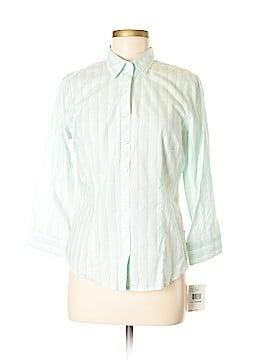 IZOD Long Sleeve Blouse Size M