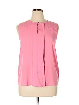 Ellen Tracy Sleeveless Blouse Size XL
