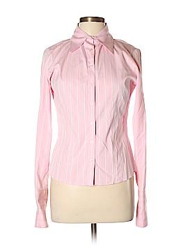 Thomas Pink Long Sleeve Button-Down Shirt Size 12