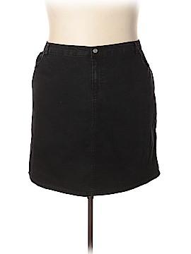 Jaclyn Smith Denim Skirt Size 26 (Plus)
