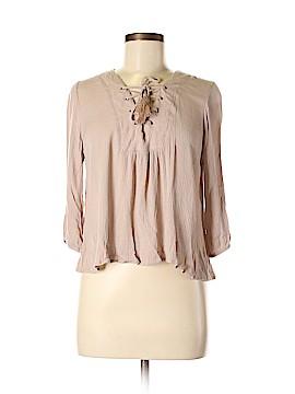 Full Tilt 3/4 Sleeve Blouse Size M