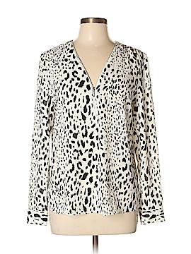 INC International Concepts Long Sleeve Blouse Size 10