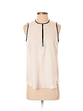 L'Agence Sleeveless Silk Top Size 2