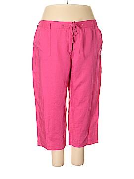 Jones New York Sport Linen Pants Size 24 (Plus)