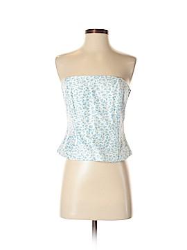 J. McLaughlin Sleeveless Silk Top Size 2