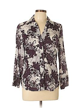 Ann Taylor LOFT Outlet Long Sleeve Button-Down Shirt Size 10