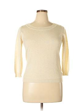Max Mara Silk Pullover Sweater Size XL