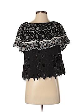 Hemant And Nandita Short Sleeve Blouse Size XS