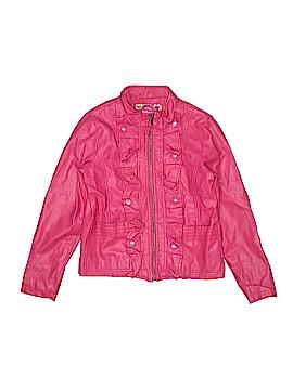 Dollhouse Faux Leather Jacket Size 14