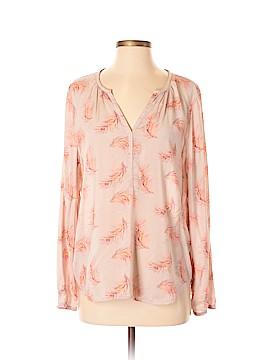 Hinge Long Sleeve Blouse Size L
