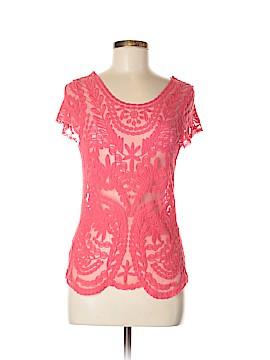 Dejavu Short Sleeve Top Size M