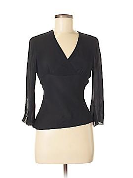 Allison Taylor 3/4 Sleeve Silk Top Size S