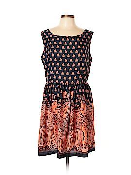 Ultra Pink Casual Dress Size XL