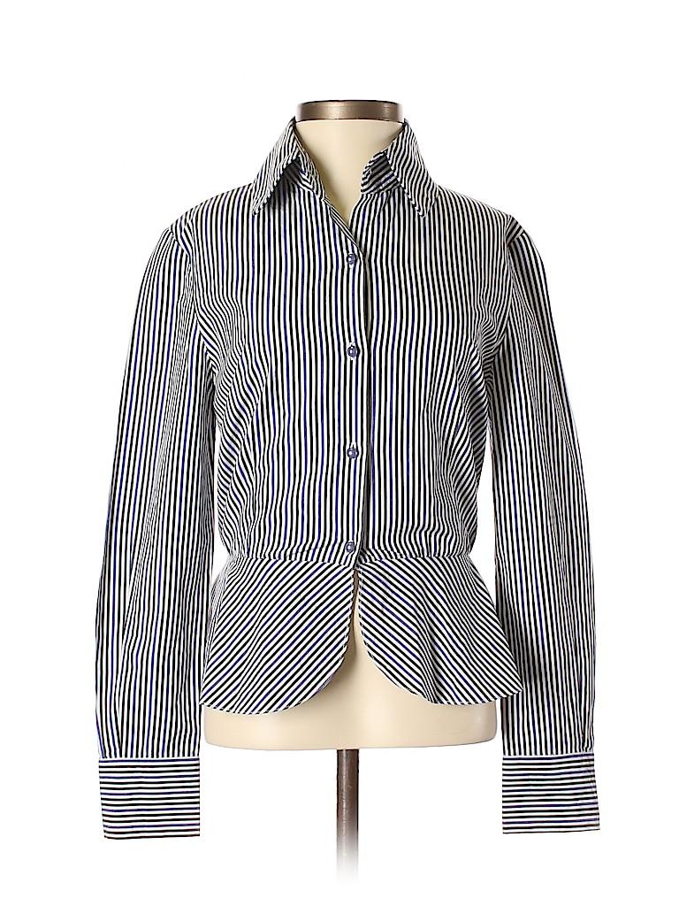 Cynthia Rowley Women Long Sleeve Button-Down Shirt Size 2