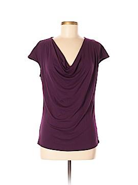Saks Fifth Avenue Short Sleeve Blouse Size M