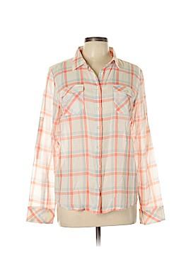 Eastern Mountain Sports Long Sleeve Button-Down Shirt Size L