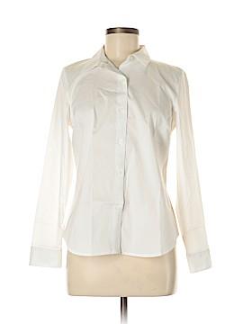 Apt. 9 Long Sleeve Button-Down Shirt Size 8 (Petite)