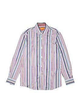 Tallia Long Sleeve Button-Down Shirt Size 12