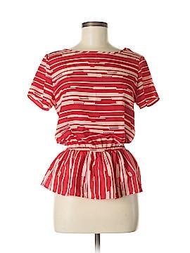 Whisper Short Sleeve Blouse Size M