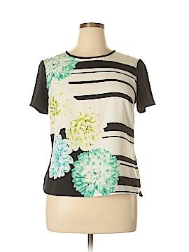 Oasis Short Sleeve Blouse Size 14