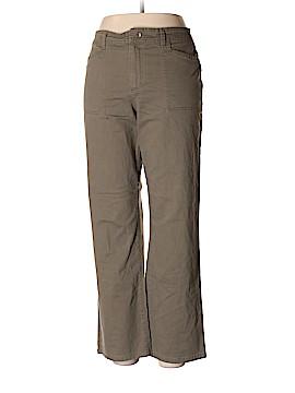 Gloria Vanderbilt Khakis Size 16 (Petite)