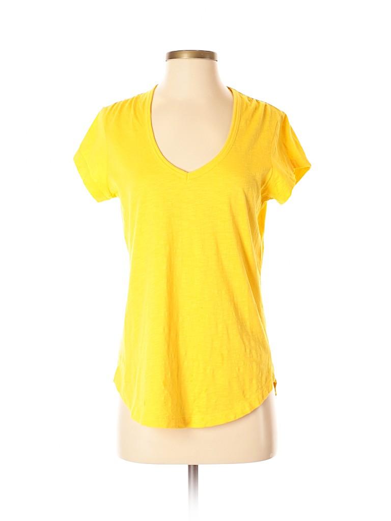 Lands' End Canvas Women Short Sleeve T-Shirt Size XS