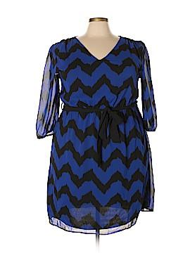Indulge Casual Dress Size 2X (Plus)