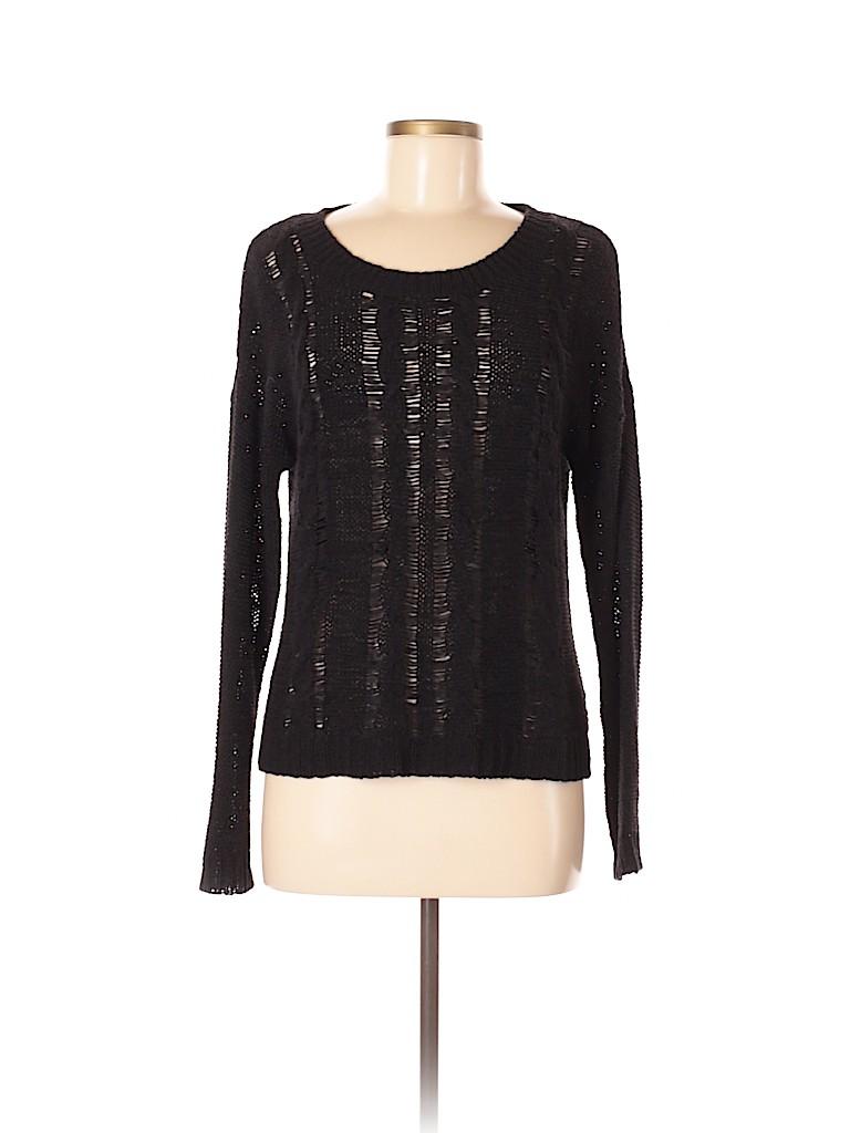 August Silk Women Pullover Sweater Size M (Petite)