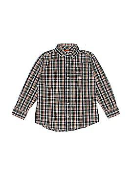 Gymboree Long Sleeve Button-Down Shirt Size 5 - 6