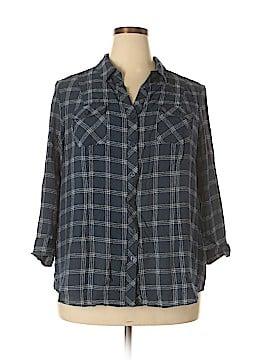 CB Long Sleeve Blouse Size 2X (Plus)
