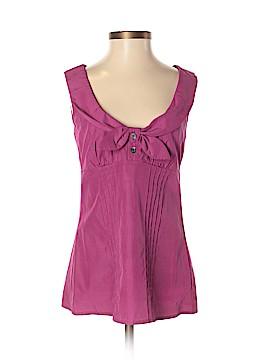 Trina Turk Sleeveless Silk Top Size 0