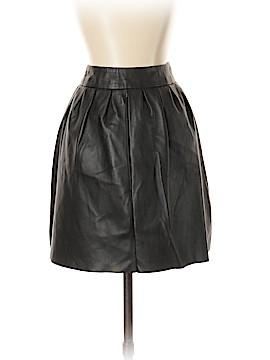 Aqua Leather Skirt Size S