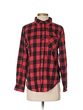 Vanilla Star Long Sleeve Button-Down Shirt Size S