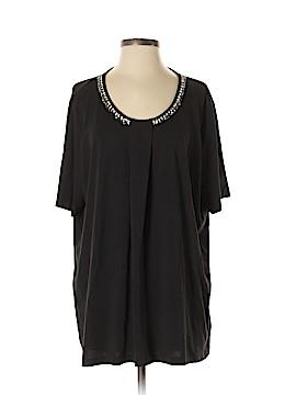 Marina Rinaldi Short Sleeve Top Size 20 (XL) (Plus)