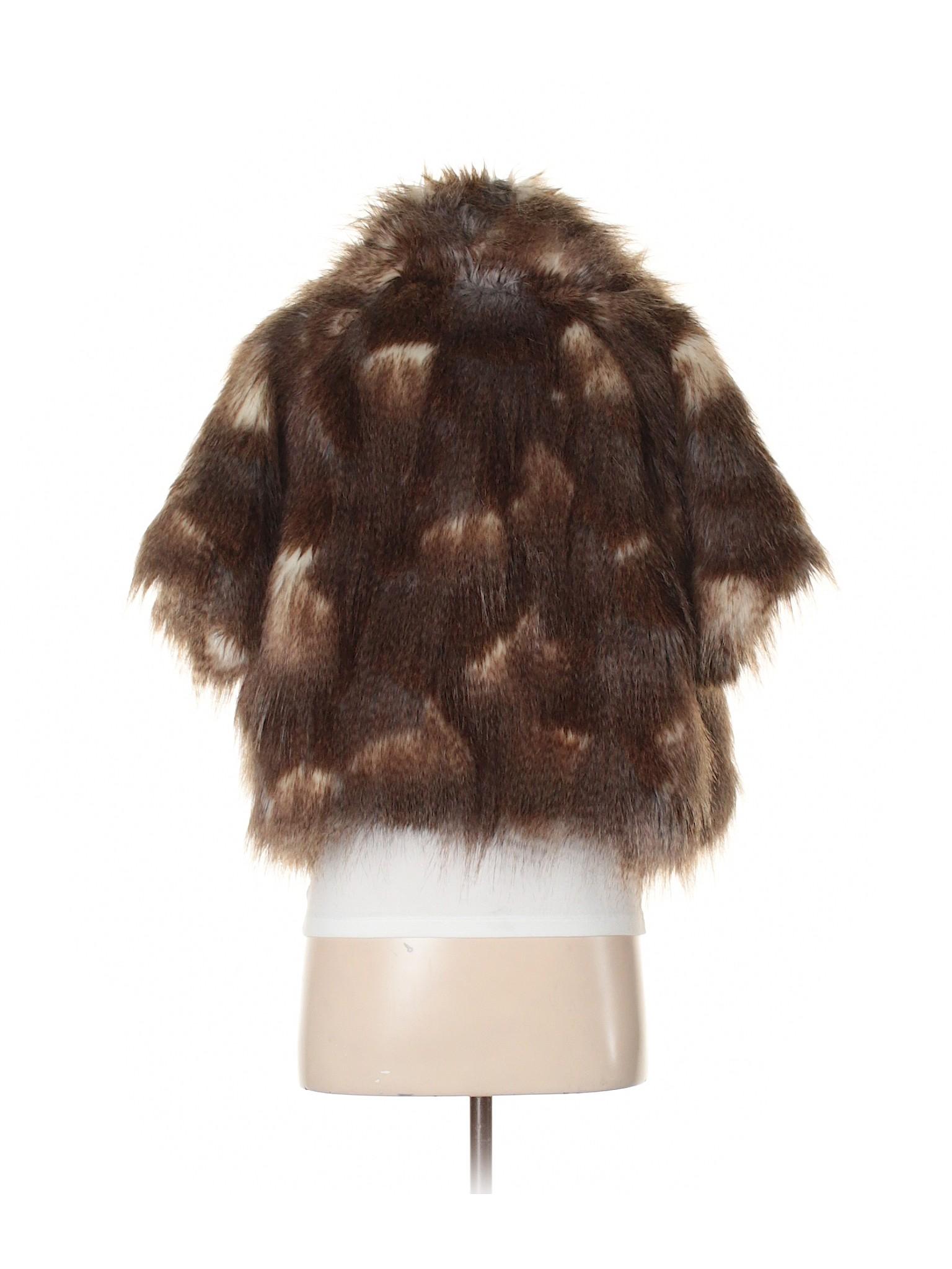 Collection winter Fur Jacket Eighteen Boutique Faux 7YBw5q4UW